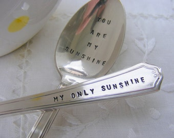 You Are My Sunshine Fork and Spoon Set