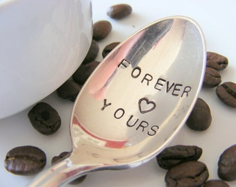 Forever Yours Coffee Spoon