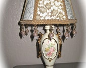 Victorian Style Lampshade includes the Vintage Lamp