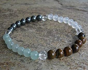 ARIES - Zodiac Bracelet Crystal Healing Gemstone