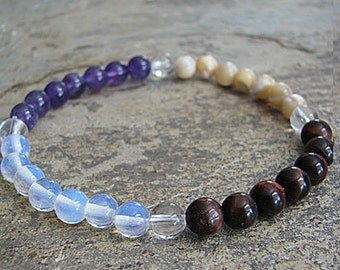 psychic power- Crystal Energy MEDITATION BRACELET