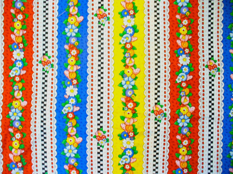 Eyelet Stripe Fabric Mary Engelbreit 1 Yard By