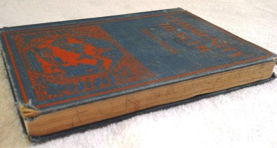 SALE Community Health Malden Health Series 1928 by Turner Collins