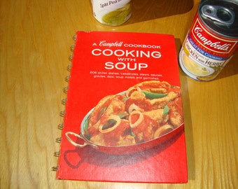 Recipes Campbell Cookbook Cooking with Soup