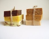 All Natural Handmade Organic Soaps -- Cold process bar soaps with Extra Virgin Olive Oil  -- Choose 3 bars -- GIFT SET