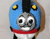 Custom Crocheted Train Hat