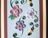 greeting card,quilled, all occasions