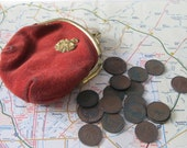 German coins and coin purse