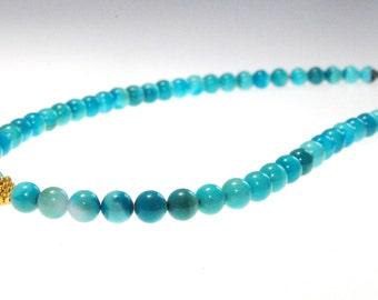 Sleeping Beauty Turquoise Necklace:) Bridal Jewelry, Natural Sleeping Beauty Turquoise Necklace