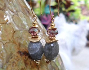 Lovely in Labradorite Earrings