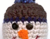 Frosty the Snowhat - Adorable Child's Snowman Hat