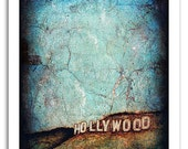 "Hollywood Art Print - Signed, Numbered 8x10"" - From Original Painting"