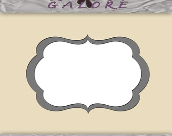 Fancy Frame - For Use in Photoshop and Photoshop Elements - Layered .PSD - Digital Frame - Digital Designs Galore