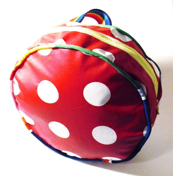 Preschooler Backpack in red