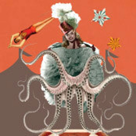 Circus Premade Etsy Shop Banner and Avatar
