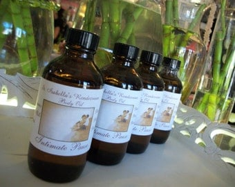 Intimage Pause Massage Oil ~ Organic 4 oz ~ Yoni Oil ~ Body Oil ~ Essential Oils Blend