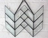 Geometric Double Bevel Arrow Tail