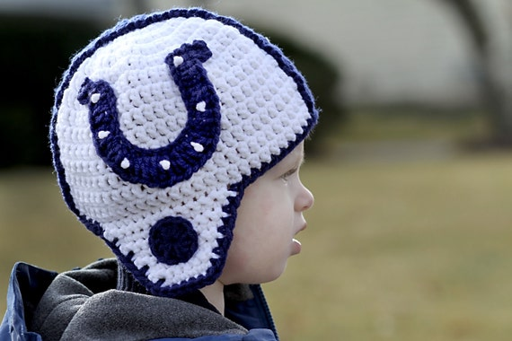 Indianapolis Colts Helmet Hat Adult