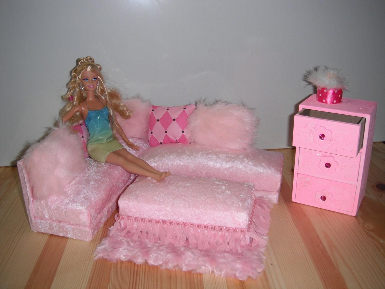 barbie monster high doll furniture dresser set by dorrdesigns. Black Bedroom Furniture Sets. Home Design Ideas