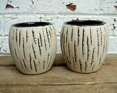 """Ceramic Pots - """"Bark"""""""