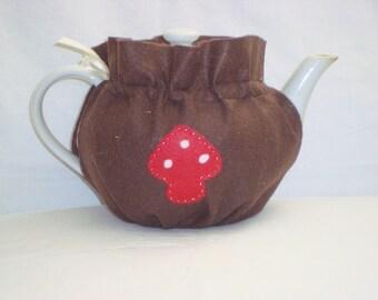 Brown Felt Tea Cozy