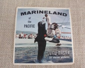 SALE - Vintage View-Master Reels - Marineland of the Pacific - 1967
