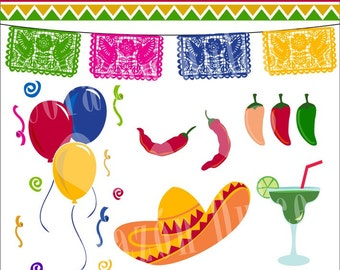INSTANT DOWNLOAD Fiesta Mexicana 1 - Personal and Commercial Use-