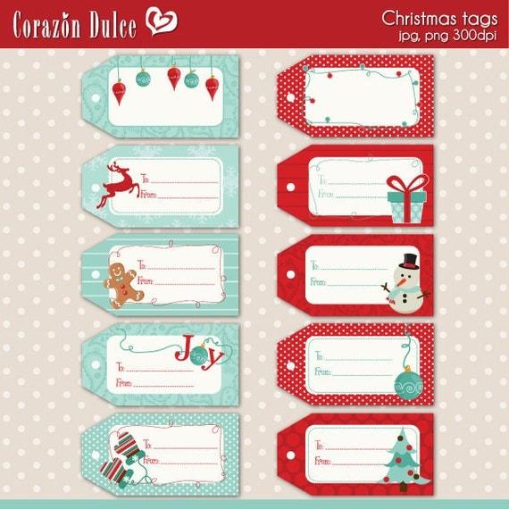 De Regalo Navidad Para Imprimir Etiquetas Tarjetas Y