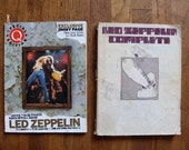 Led Zeppelin Music Book & Special Q  Magazine