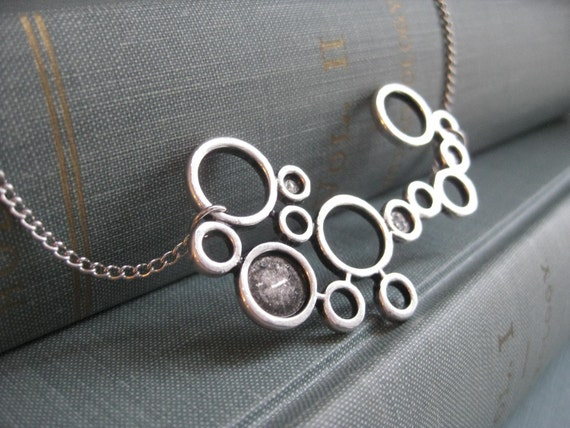 Silver O's Necklace
