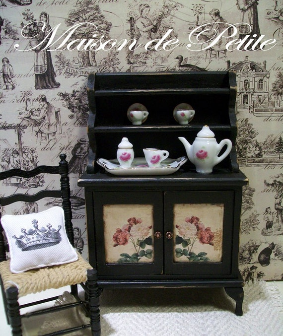 Miniature Dollhouse 1:12 Awesome Custom French Country Shabby