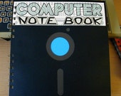 "8"" Big Floppy Disk Notebook ""Computer Note Book"""
