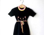 Knit  Baby Dress Blue