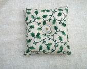 Holiday pillow pincushion or bowl filler