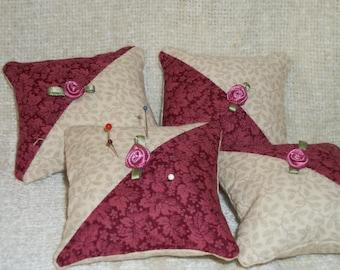 Tiny pillow for pincushion or bowl filler