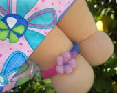 Waldorf doll anklet fits 15 inch Dfh doll
