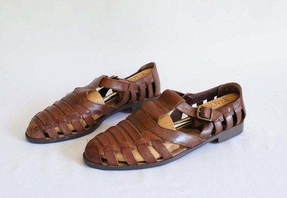 ceb6d3bb6be2 ... mens huarache sandals leather  Genuine ...