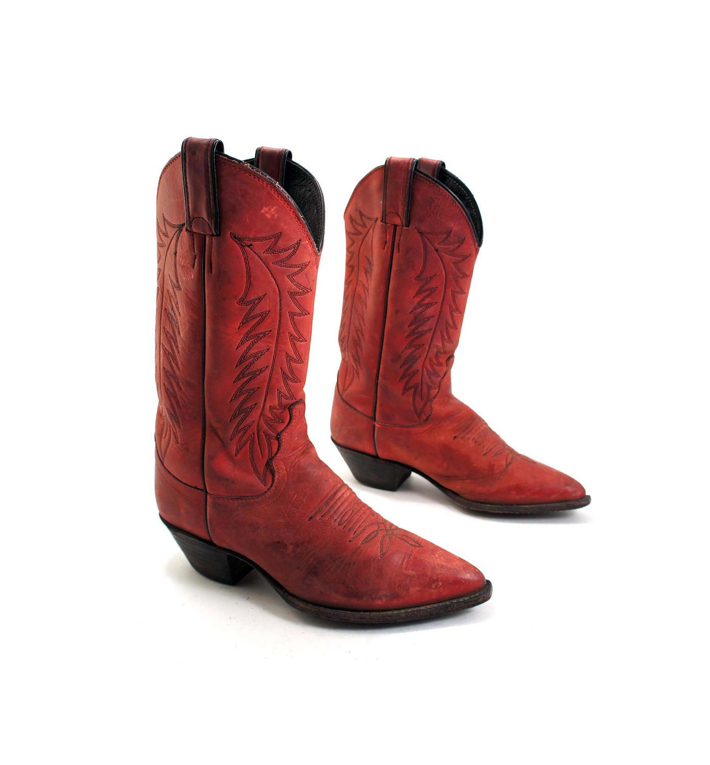 Beautiful Girl Cowboy Boots | Red Cowboy Boots For Women