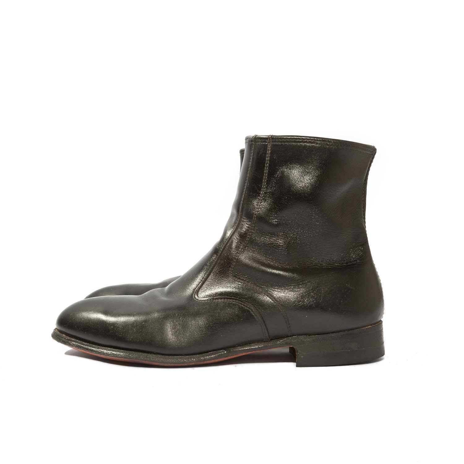 s zipper ankle boots steel toe motorcycle boots for a