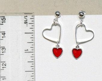 Tiny Hearts Valentine Earrings