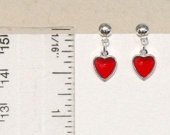 Tiny Heart Valentine Earrings