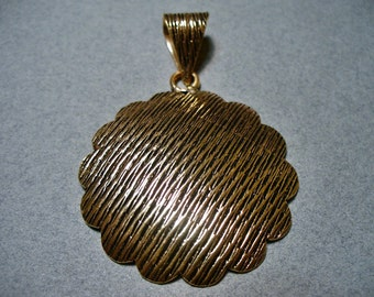 Copper Pendant 54MM