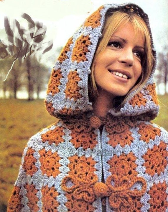 PDF Crochet Pattern for a 1960s Mother and Daughter Retro Killarney  Mother And Daughter Crochet