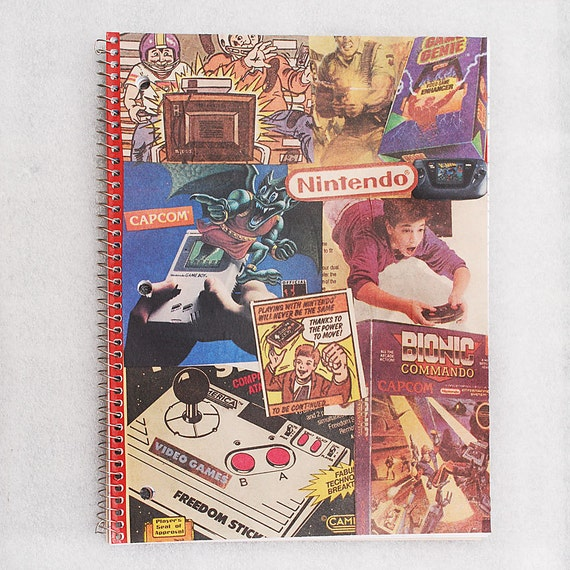 Nintendo Comic Notebook - Classic Games - back to school supplies