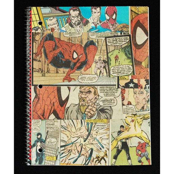 Spiderman Notebook - Todd Mcfarlane- back to school supplies - Marvel Comics
