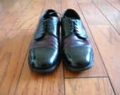 Vintage Sears Two Tone Cap Toe Oxfords Size 9.5 EEE