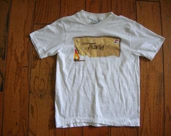 Vintage 80s Travis (501 Jeans Promo) T-shirt