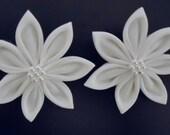 Final Touch Of Snow Kanzashi Flower Set
