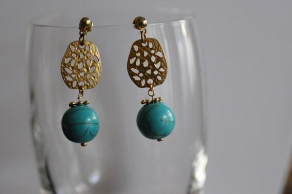 SALE - Turquoise Earrings