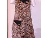 Reserved for Gale-Leopard Apron Bedrock Collection